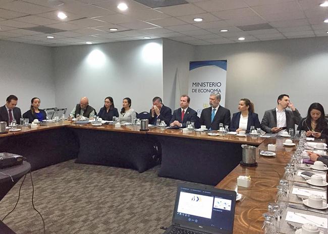 Reunión Con Ministerio De Economía De Guatemala