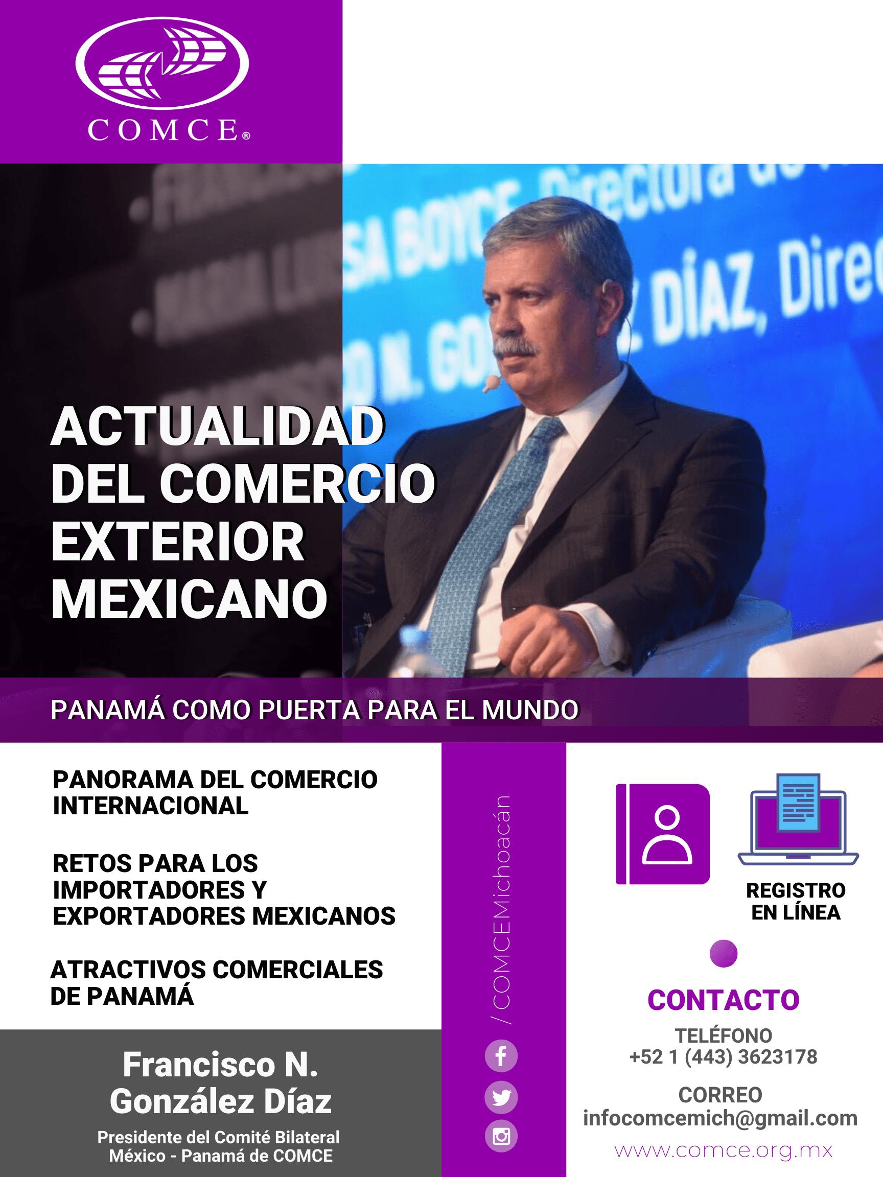 WEBINAR Actualidad Del Comercio Exterior Mexicano Y Oportunidades Comerciales Con Panamá
