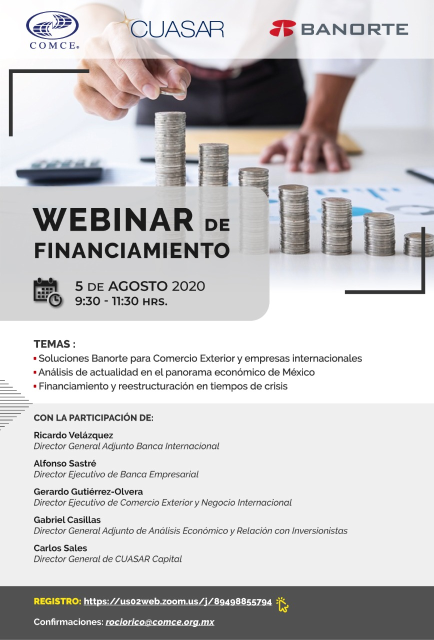 Webinar De Financiamiento